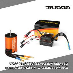 GoolRC 3650 3500KV Brushless Motor with 60A ESC Combo for 1/