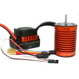 Brushless Motor 9T 4370KV with 60A ESC Speed Controller Comb
