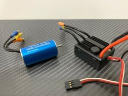 25A 1/18 4400KV Brushless ESC Motor Combo Fits 1/18 MIni RC