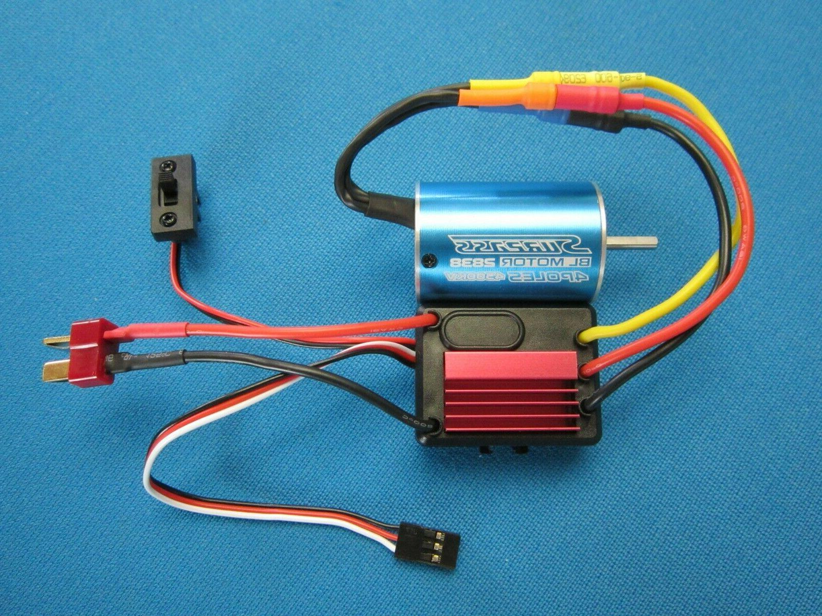 brushless 2838 motor and 35a esc combo
