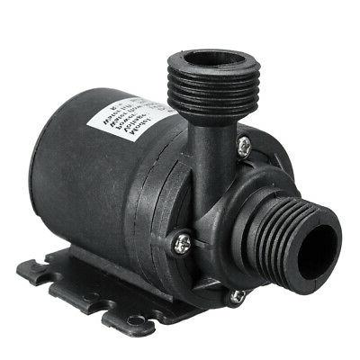 Ultra Quiet Mini DC 12V Lift Brushless Motor Submersible Water Pump