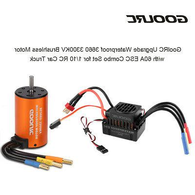 Brushless Motor+60A Set for Car