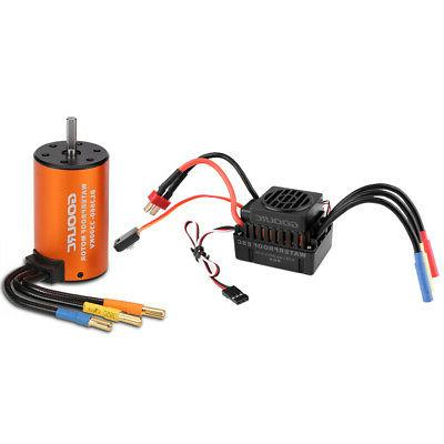 USA 3300KV Brushless ESC Set for 1/10
