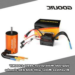 usa 3660 3300kv brushless motor 60a esc